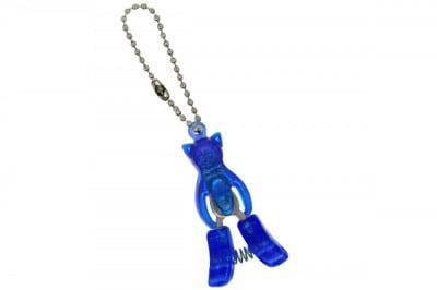 Schlüsselanhänger Katze mit kleiner Schere