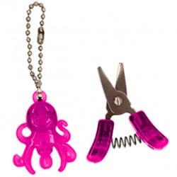 Schlüsselanhänger Tintenfisch mit kleiner Schere