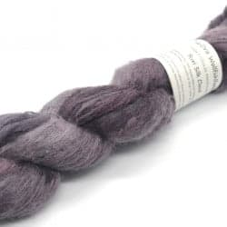 Suri Silk Cloud Aubergine