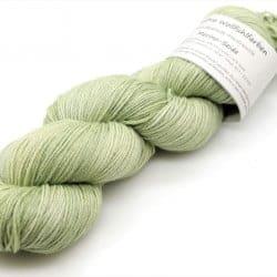 Merino-Seide Lindgrün