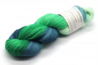 Fine Merino Socks 100 - es grünt so grün